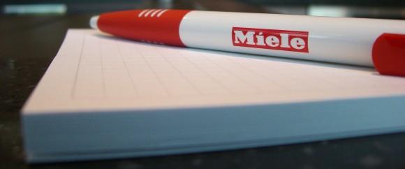 Kontakt Miele Kugelschreiber