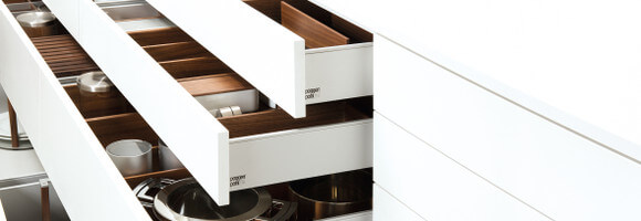 Poggenpohl Drawer and Pull-Outs