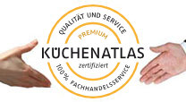 Auszeichnungen küchenatlas-Premium-Siegel