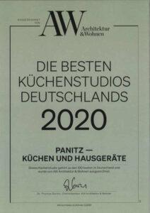 Architektur-und-Wohnen-Auszeichnung-2020-Kuechenstudio-Panitz-Nuernberg