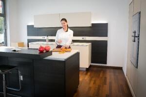 Musterküche Poggenpohl Küchenstudio Panitz mit Model